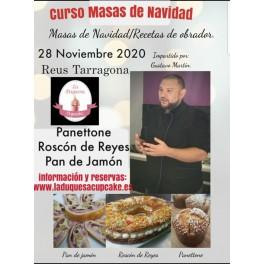 CURSO MASAS DE NAVIDAD